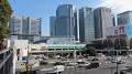 Typický obrázek strední části Tokia, moderní mrakodrapy, rušné ulice,...