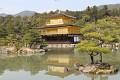 """Obzvláště tento """"Kinkaku-ji - Zlatý pavilón"""", tady je to turisty opravdu přecpáno ..."""