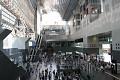 Kjótské nádraží je opravdu impozantní stavba - najdete zde snad vše - je to směsice obchůdků, nákupních center, restaurací, ...