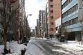 Ráno se probouzím do krásného slunečného dne - včerejší sněhová nadílka ustala - měním plány a vyrážím udělat pár snímků zasněženého Tokia - kdy se Vám tohle povede ...