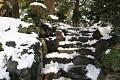 A kampak asi vedou tyto krásné kamenné schody ...