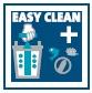Easy Clean Plus - obzvlášť jednoduché čištění díky funkci aktivního čištění