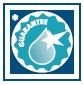 Záruka průzračné vody