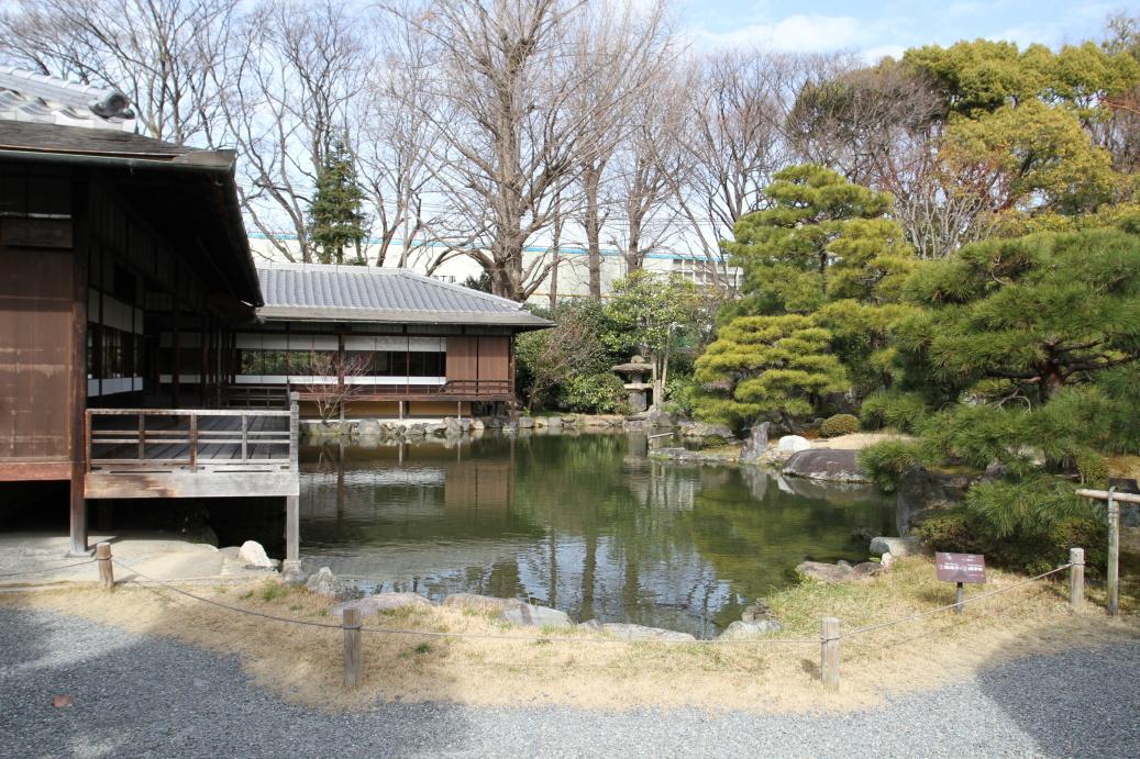 Vyhlášené kjótské zahrady ...