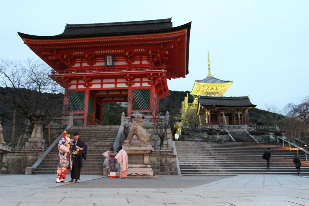 Kjótské chrámy ...