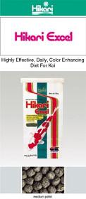 Hikari Excel pro excelentní vybarvení KOI, krmení vhodné i pro nižší teploty vody!