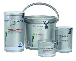 FIAP premiumcare Schlamm Ex je čistě přírodní prostředek k odstranění kalu a bahna v zahradním jezírku.