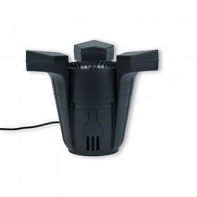 Plovoucí skimmer spolehlivě odstraní nečistoty z hladiny jezírka.