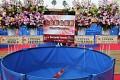Králem letošní výstavy se stává nádherné Kohaku pocházející ze SAKAI FISH FARM ...