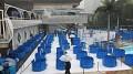 Konečně jsem to našel, výstavní bazénky plné nádherných KOI drahokamů...