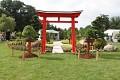 Můžete se projít japonskou zahradou s ukázkami bonsají ...