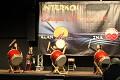 Výstava pomalu vrcholí - za znění japonských bubnů začíná slavnostní ceremoniál ...
