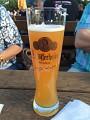 Trochu piva na spláchnutí mastnoty nezaškodí - děkujeme za příjemné posezení s KOI přáteli, vystavovateli ... Atmosféra velmi uvolněná a přátelska - no asi se to trochu protáhne  - výsledky si necháme na zítra ...