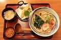 Již jsem Vám prezentoval japonskou snídani a co třeba typické menu ... Tempura Udon
