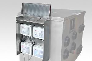 Bubnový filtr s biokomorou pro koupací jezírka do 400m3, pro jezírka s KOI do 240m3