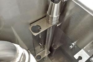 Příprava pro ponornou UVC lampu. Bubnový filtr s biokomorou pro koupací jezírka do 50m3, pro jezírka s KOI do 30m3