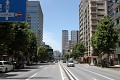 Nedělní tokijské ulice jsou velmi poklidné ...