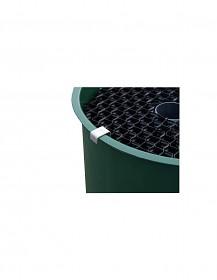 Plástvový předfiltr k filtraci Center Vortex výrazně zvyšuje účinnost vortexu.