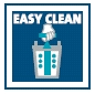 Easy Clean - patentovaná technologie pro snadné a pohodlné čištění filtru