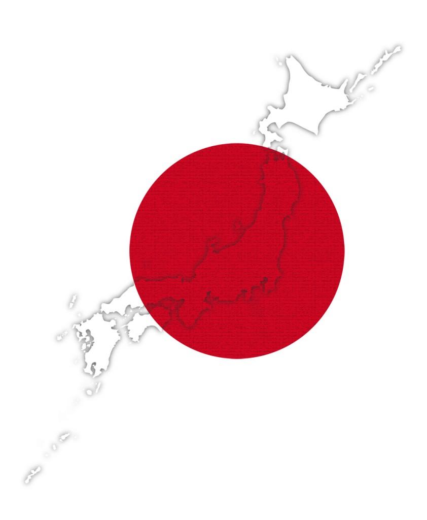 Japonsko červenec 2013