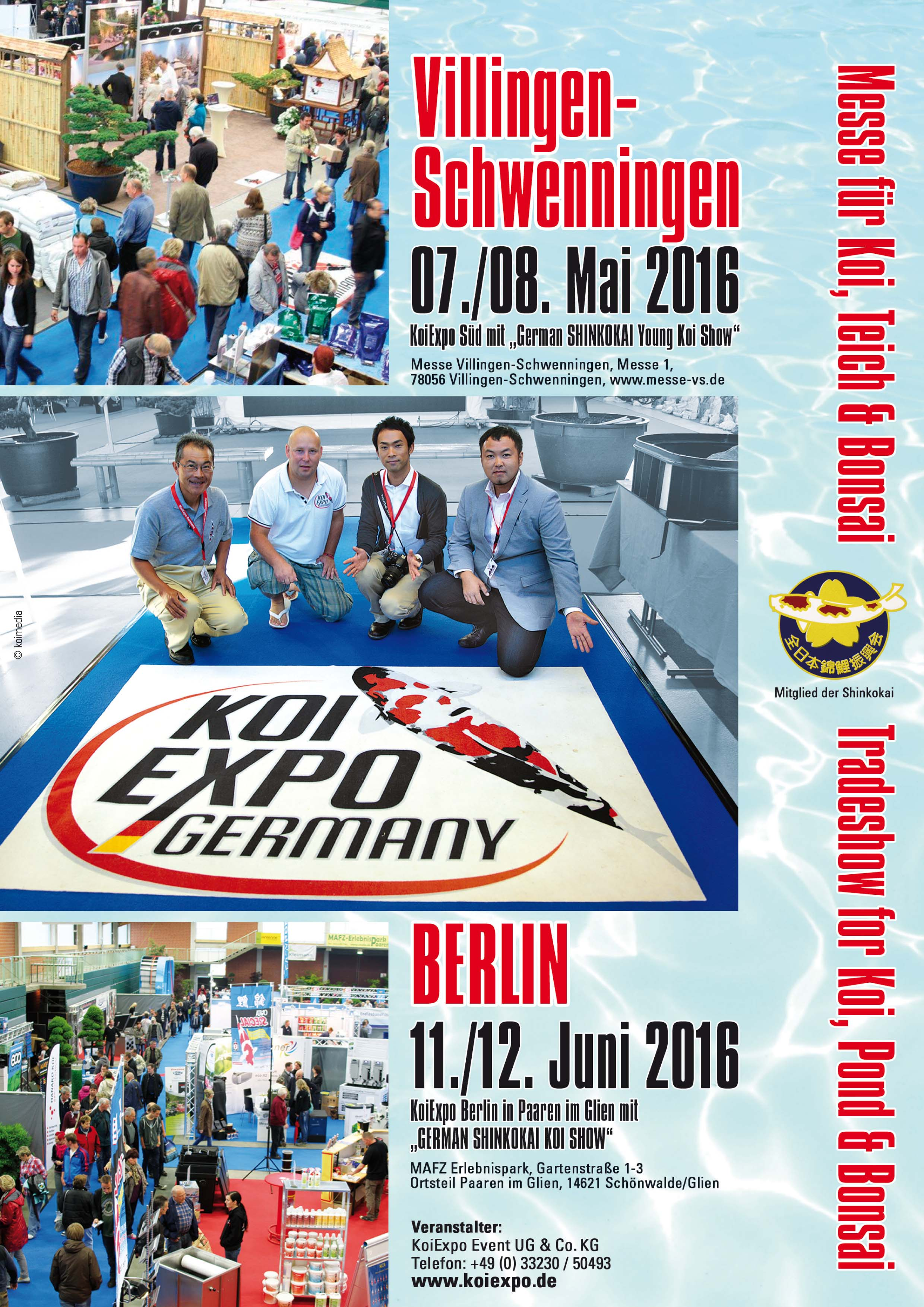 Germany Shinkokai Young KOI Show 2016