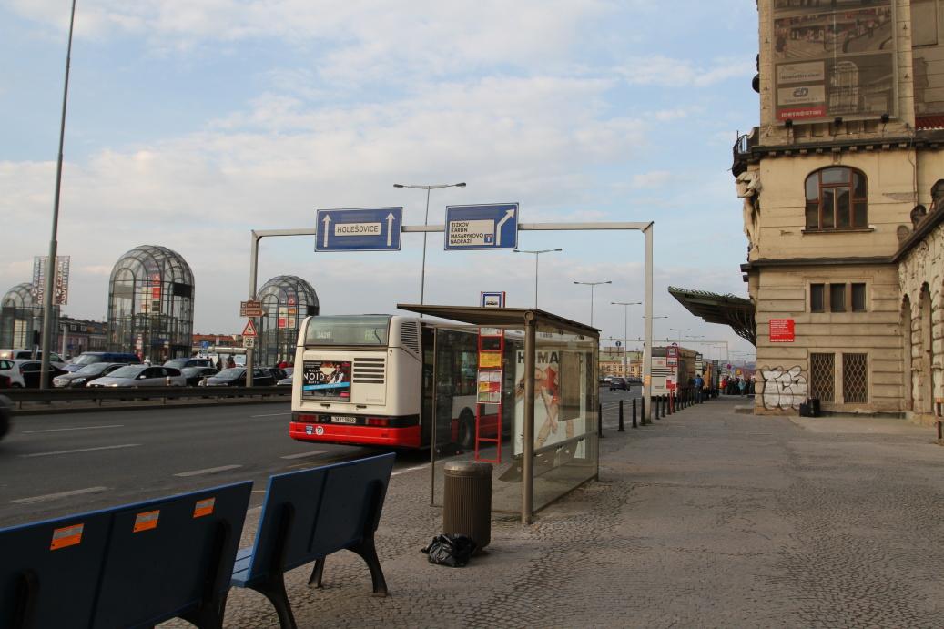 Praha hlavní nádraží ...