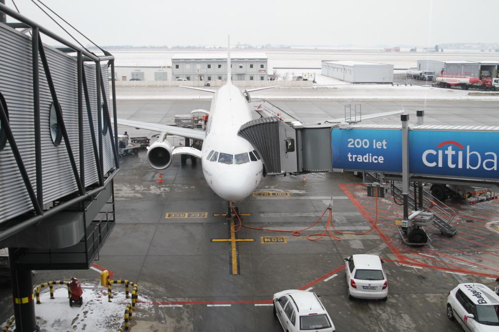 Letadlo připraveno, tak jdeme na palubu...