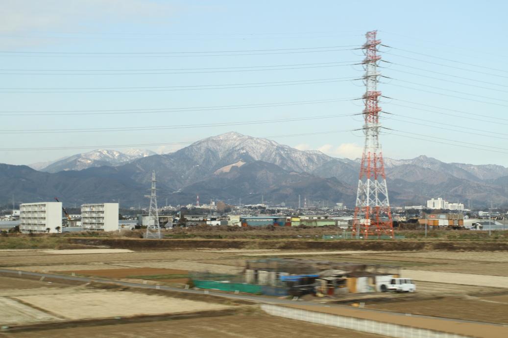 Vyrážím směr Kyoto, krásný výhled ...