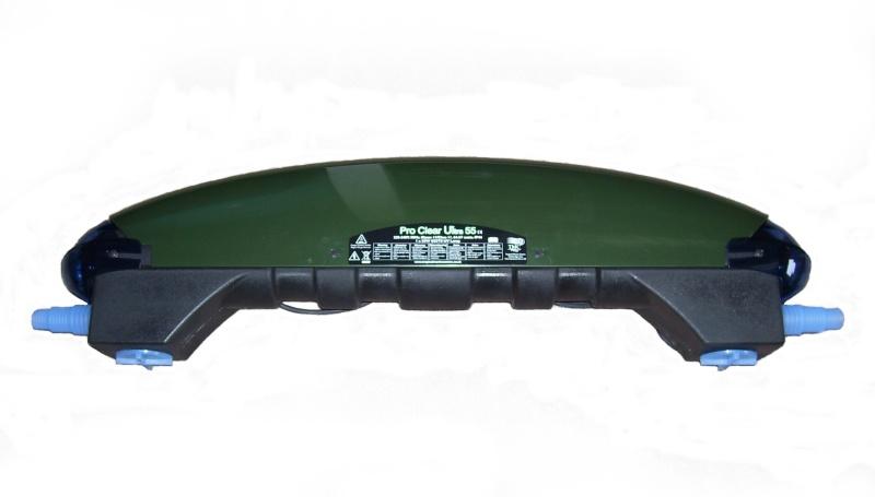 Profesionální anglická jezírková UV lampa TMC 55 W = efektivní řešení problému se zelenou vodou.