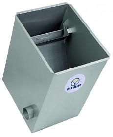Nerezový štěrbinový filtr = profesionální mechanická filtrace zahradního jezírka!