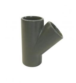 PVC T-kus 45° 50 mm