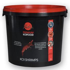 Akita premium KOI Shrimps z krevet volně odlovených v přírodě pro excelentní vybarvení a výrazný růst KOI