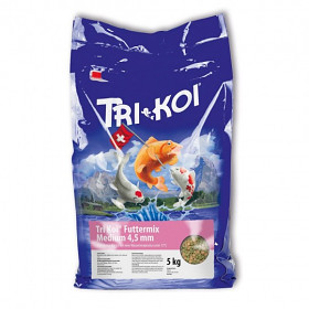 KOI Mix krmivo pod 15°C 1 kg 4,5 mm