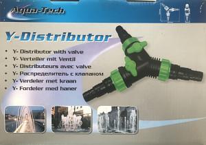 Y rozdělovač s ventily 32/40/50 mm